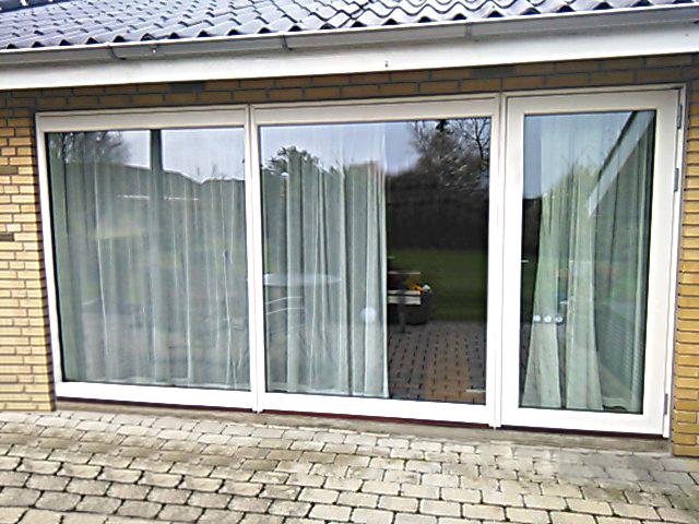 Terrassedør og store vinduespartier med perfekt udkig