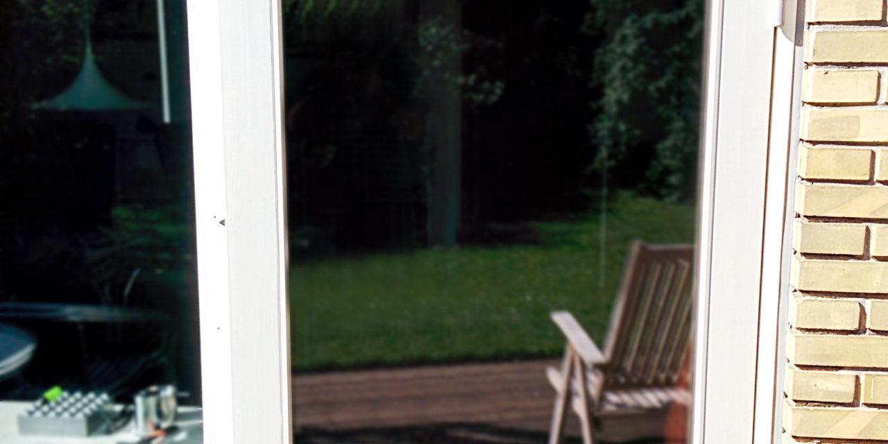 Ny terrassedør med flere fordele