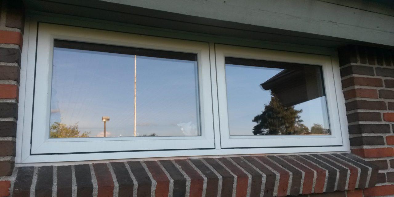 Træ-alu vinduer til hus i Greve