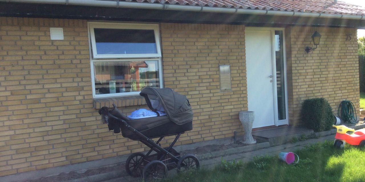 Nye vinduer og døre til parcelhus i Bjæverskov