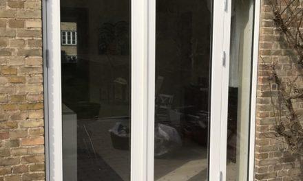 Nye vinduer og terrassedør til Henrik