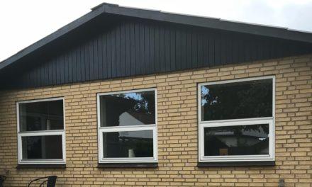 Vedligeholdelsesfrie vinduer og døre i plast