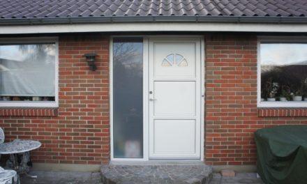 Ny dør og optimeret låsefunktion forbedrer sikkerheden